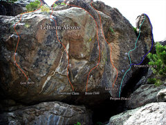 """Rock Climbing Photo: Photo beta for project one in the """"Leftism Al..."""