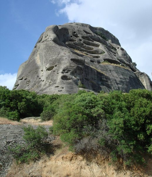 Rock Climbing Photo: Two parties of climbers on Ambaria's Sudwestkante.