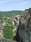 Rock Climbing Photo: Looking east from the top of Teufelstrum (Devil's ...
