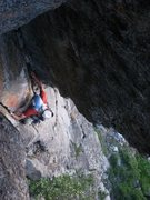 Rock Climbing Photo: Following the Twin Cracks pitch before getting my ...