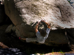 "Rock Climbing Photo: Justin Hausmann getting ready to play ""The Pi..."