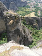 Rock Climbing Photo: Ippy, James and I at the top of the second pitch o...
