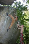 Rock Climbing Photo: Stephen Slabolicious, HP40, Alabama