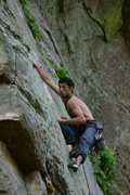 Rock Climbing Photo: Stephen Twinkie, RRG, Kentucky