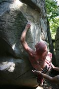 Rock Climbing Photo: Lew, Whiplash, HP40, Alabama