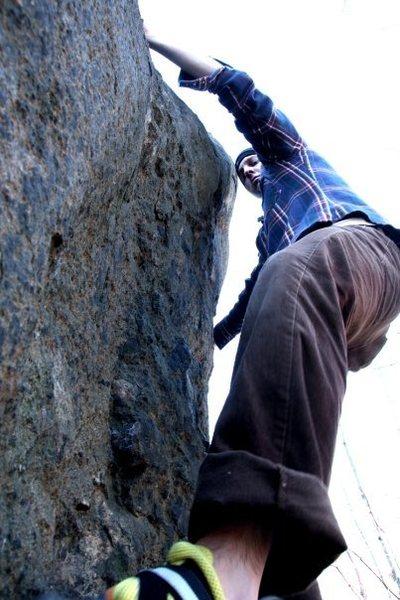 Rock Climbing Photo: Egg on the fa I think.  Photo Credit: Justin Edber...