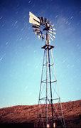 Rock Climbing Photo: Barnwell windmill by moonlight