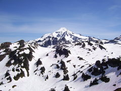 Rock Climbing Photo: Glacier Peak from White Chuck Glacier area.
