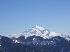 Rock Climbing Photo: Glacier Peak from Dome Peak.  Early July 2007.