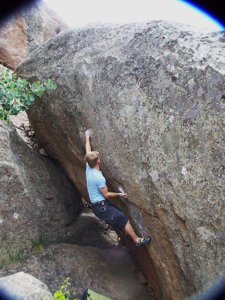 Rock Climbing Photo: Andrew Ryder on the Gloria's super classic Peanut ...