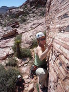 Rock Climbing Photo: Cannibal Crag in Red Rocks