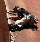 Rock Climbing Photo: Paul dándola toda en este bonito diedro.