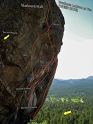 "Rock Climbing Photo: Photo beta for the ""Crystal Corner (RIGHT).&q..."