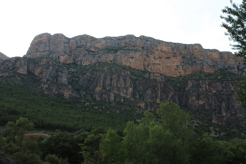Random pic of rock that I took driving around the Catalunya area.