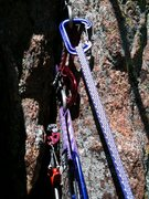 Rock Climbing Photo: Anchors and more Anchors