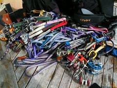 Rock Climbing Photo: My Sandias Rack