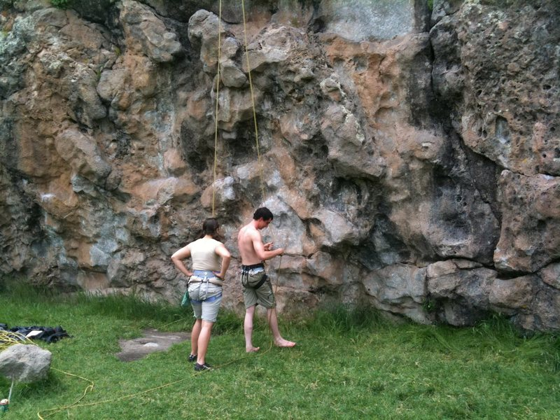 More Climbers at Cattle Wall