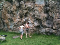 Rock Climbing Photo: More Climbers at Cattle Wall