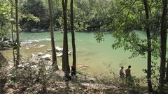 Rock Climbing Photo: the river right next to the cliff is perfect for c...