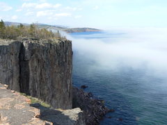 Rock Climbing Photo: Palisade head with shovel point in the background