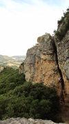 Rock Climbing Photo: Heading up