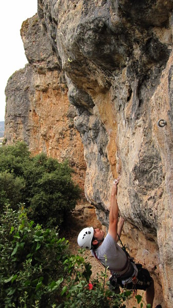 Rock Climbing Photo: Overhang #1