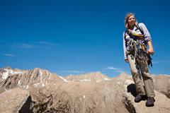 Rock Climbing Photo: Caroline, Lone Pine Peak.
