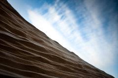 Rock Climbing Photo: Wood and sky