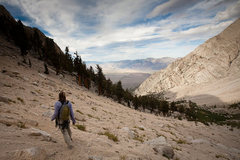 Rock Climbing Photo: Downward Bound to home in the OV