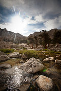 Rock Climbing Photo: Sierra stream