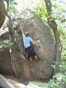 Rock Climbing Photo: stickin' the jug