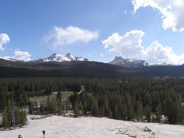 Rock Climbing Photo: Cathedral from Lembert Dome