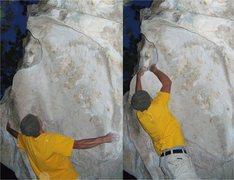 Rock Climbing Photo: Silver Child, V2.