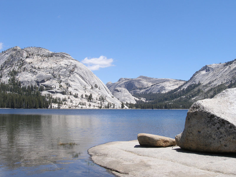 Tenaya Lake, Stately Pleasure dome