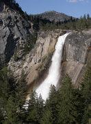 Rock Climbing Photo: Nevada Falls