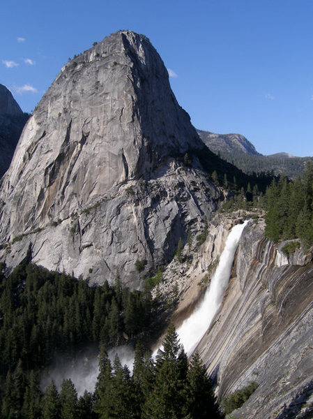 Liberty Cap, Nevada Falls<br>