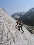Rock Climbing Photo: Pitch 2, Dixie Peach