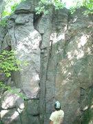 Rock Climbing Photo: More of Cibola Wall
