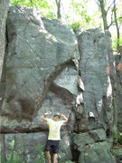 Rock Climbing Photo: I think there may be a project up this face.