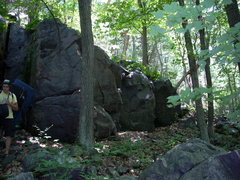 """Rock Climbing Photo: More of the """"Unknown Wall"""""""