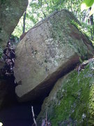 """Rock Climbing Photo: Entrance to """"The Pit""""."""