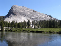 Rock Climbing Photo: Lembert dome and Water Cracks