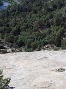 Rock Climbing Photo: Solar Slab approach....