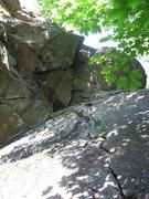 Rock Climbing Photo: Lie Detector (5.8) - June 2009