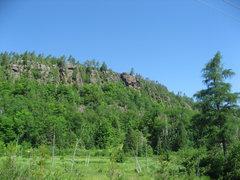 Rock Climbing Photo: Obsession Area