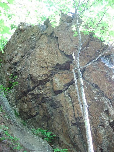 Rock Climbing Photo: Rope-burn (5.10)
