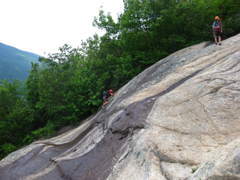Tak. soloing on the slab
