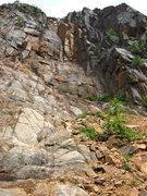 Rock Climbing Photo: first buttress center