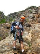 Rock Climbing Photo: Close up of Ryan