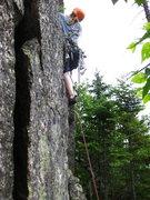 Rock Climbing Photo: Ryan beginning the climb.